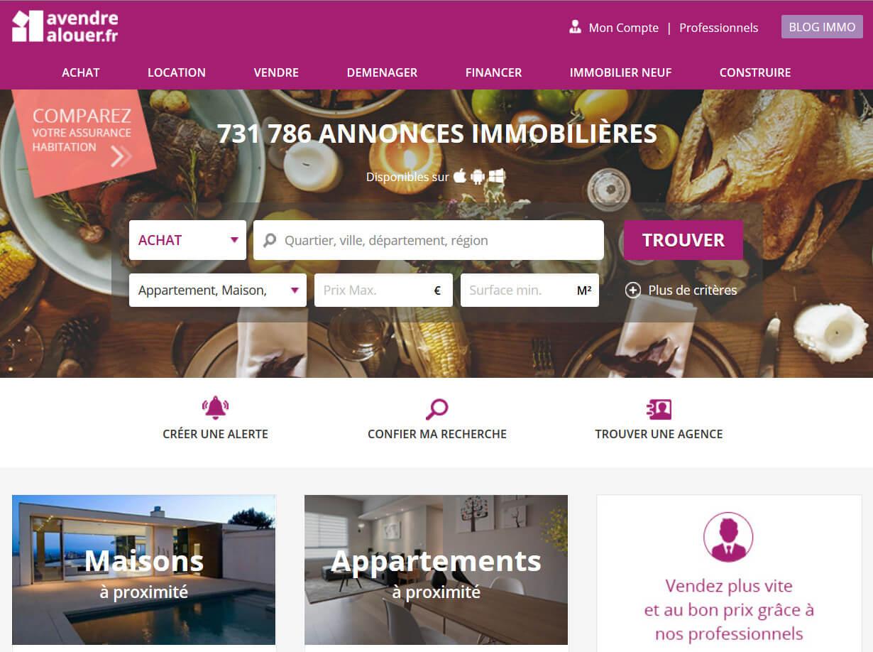 À vendre à louer: Annonces immobilières
